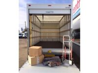 URGENT SHORT NOTICE MAN&LUTON VAN TRUCK HOUSE/OFFICE REMOVAL/MOVING/PIANO/BIKE/DELIVERY/DUMP/RUBBISH