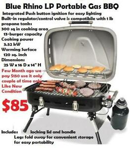 Highest Quality Stainless Steel Portable Gas BBQ Deluxe BBQ Gril Like New Condition