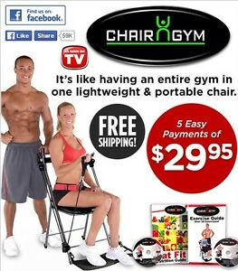 Chair Gym as seen on TV
