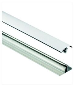 Wickes White Universal Glazing Bar For Polycarbonate Sheets - 2m (200cm)