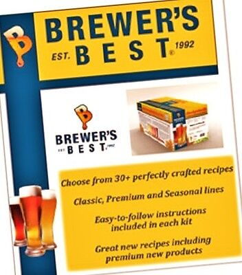 Brewers Best Rye Pale Ale Beer Ingredient Kit