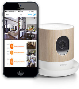 Smart Security HD Camera and Air quality monitor - brand new