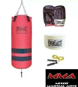 NEW EVERLAST 40LB MIXED MARTIAL ARTS FITNESS SET - 106447687 - WORKOUT - FITNESS - CARDIO - BOXING - TRAINING - MMA E...