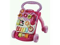 Vetch pink baby walker