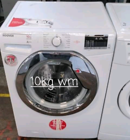 Hoover 10kg washing machine free delivery in Leicester