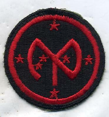 WWII WW2 US Army 27th Infantry Division Patch