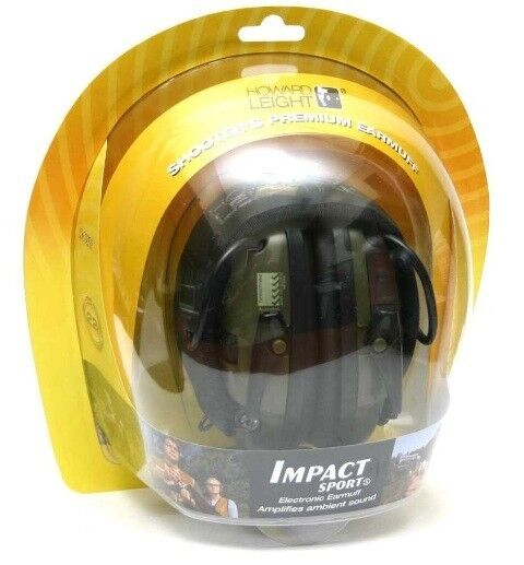 Howard Leight R-01526 Impact Sport Electronic Shooting Ear Muffs  *Free US Ship* Hearing Protection