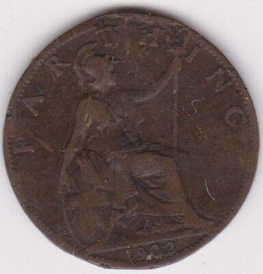 Farthing 1902 Edward Vll