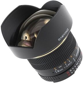 Samyang  14mm f2.8 IF  ED  ultra grand-angle pour monture Canon