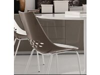 Italian, Calligaris dining chairs ( have the table too but selling separately)