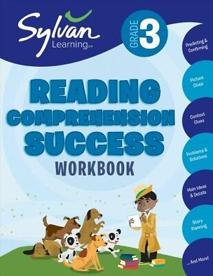 3rd Grade Reading Comprehension Success, Paperback by Sylvan Learning (EDT), ...