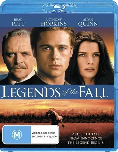 Legends Of The Fall : NEW Blu-ray