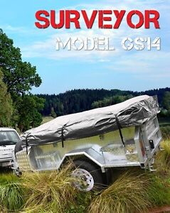 Mars Camper NEW SURVEYOR SERIES GS 14 - SOFT TOP CAMPER TRAILER Wingfield Port Adelaide Area Preview