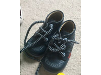 Navy blue kickers toddler size 4