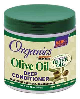 Africa`s Best Organics Olive Oil Deep Conditioner for Weak & Damaged Hair