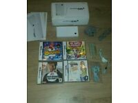 Nintendo DSi complete console with games and manual booklet