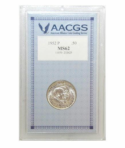 American Coin Treasure 1952 Washington Caver Commemorative Half Dollar