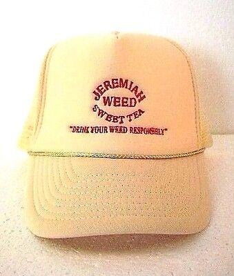 Jeremiah Weed Baseball Hat Cap Adjustable Back Strap New Old Stock