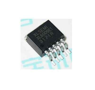 5pcs Xl6009e1 Dc-dc Adjustable Step-up Boost Ic Chip 42v4a400khz To-263