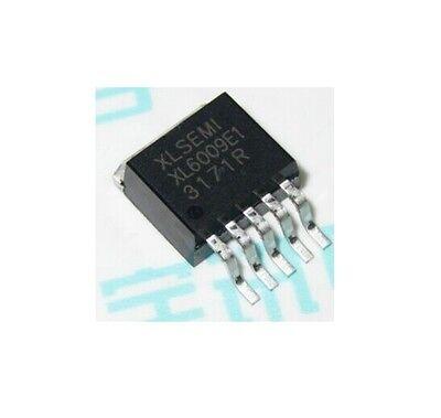 5pcs Xl6009e1 Dc-dc Adjustable Step-up Boost Ic Chip 42v4a400khz To-263
