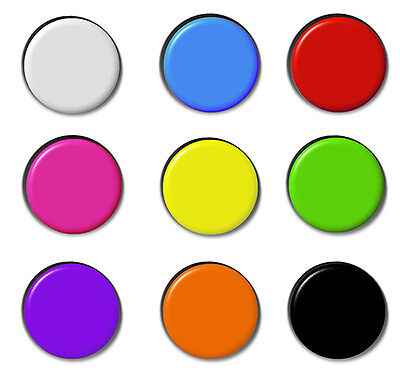 Plain Badges Combined Postage Button Pin Badge Blank Merit Schools School (Blank Button Pins)