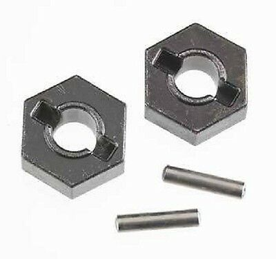 Traxxas Wheel Hubs Rim Hex E-Maxx T-Maxx Steel metal alloy upgrade 14mm TRA4954R