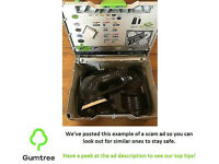 Festool ro125 eccentric sander 240v -- Read the ad description before replying!!!
