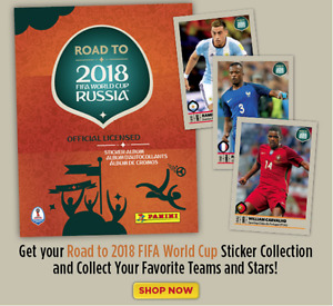 Panini Road to 2018 FIFA World Cup Russia Individual Stickers