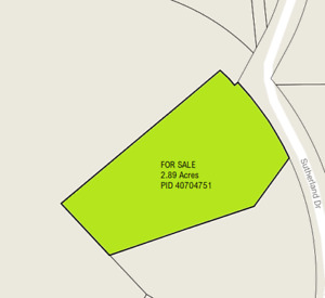 Fall River Lot for Sale - Sutherland Drive