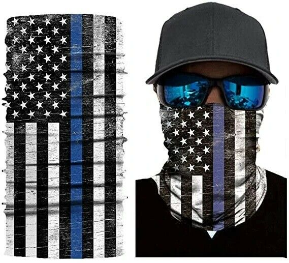 American Flag Washable Reusable Face Mask Shield Gaiter Ships From USA -In Stock Accessories