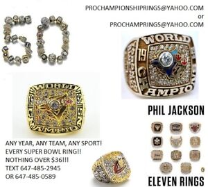Championship Rings are best for gifts, for yourself even