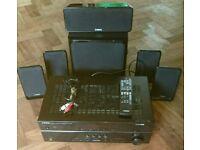 Yamaha AV Receiver 5.1 Surround Sound