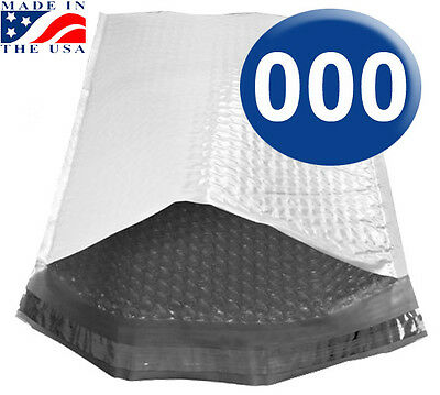 Size 000 4.25x7 Poly Bubble Mailers With Self Seal - 500 Qty  Ships Today