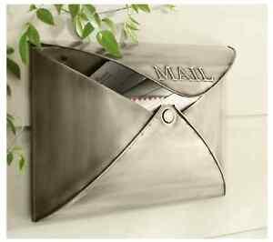 "BNIB ""envelope"" style mailbox"