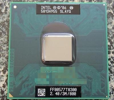 New Intel Core T8300 CPU 2.4G 3M   Dual-Core Proces  best
