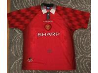 Manchester United retro shirts