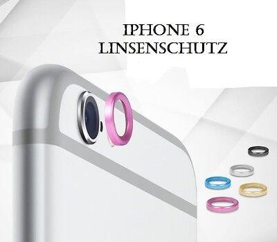 Iphone 6 Apple 4.7 Farbwahl Linsen Protector Schutz Kameraring Kameraschutz