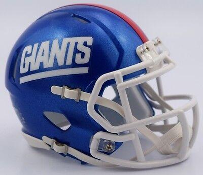 New York Giants 2016 Color Rush 1981-99 Retro Revolution SPEED Mini Helmet](Giants Helmet)