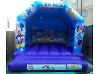 MICKEY & MINNIE MOUSE BOUNCY CASTLE/ INFLATABLE SLIDES/ SLUSH PUPPY MACHINES and more....