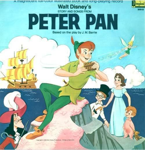 Disney - Peter Pan - Storybook LP (#3910)