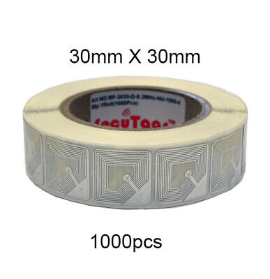 As Anti-theft Checkpoint Security System 30mm X 30mm Soft Tag 1000pcs Rf 8.2mhz