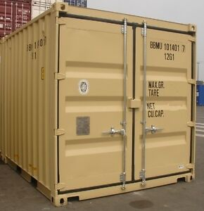 Specialty 9' Cargo Container Secure Storage