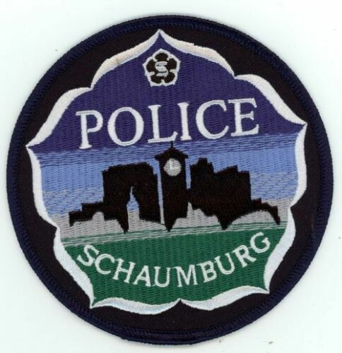 ILLINOIS IL SCHAUMBURG POLICE NEW PATCH SHERIFF