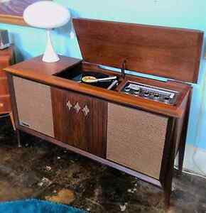 Old Record Player Cabinet