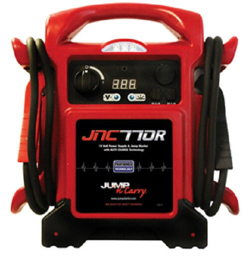 Jump N Carry JNC770R 1700 Peak Amps 12 Volt Jump Starter and Power Supply