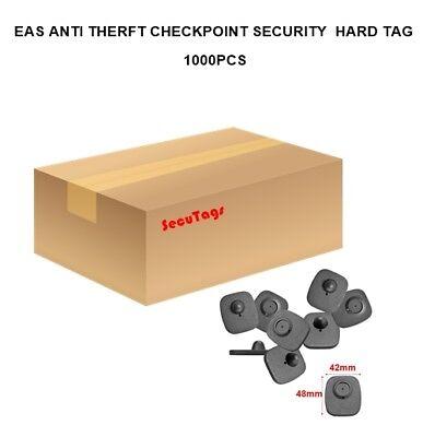 Mini Eas Anti Theft Checkpoint Security Hard Tag Black 1000pcsctm