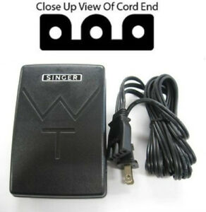 singer sewing machine power cord foot pedal