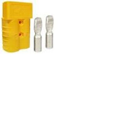 Forklift Battery Connector 350 Amp Yellow