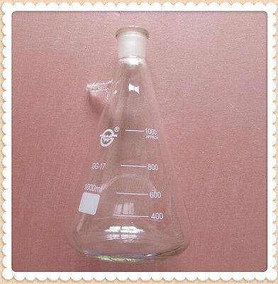 1000ml2429glass Filtering Flask1 Litrelab Chemistry Filtration Vessel