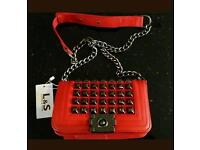 L&S Handbags, real leather, brand new with tags.